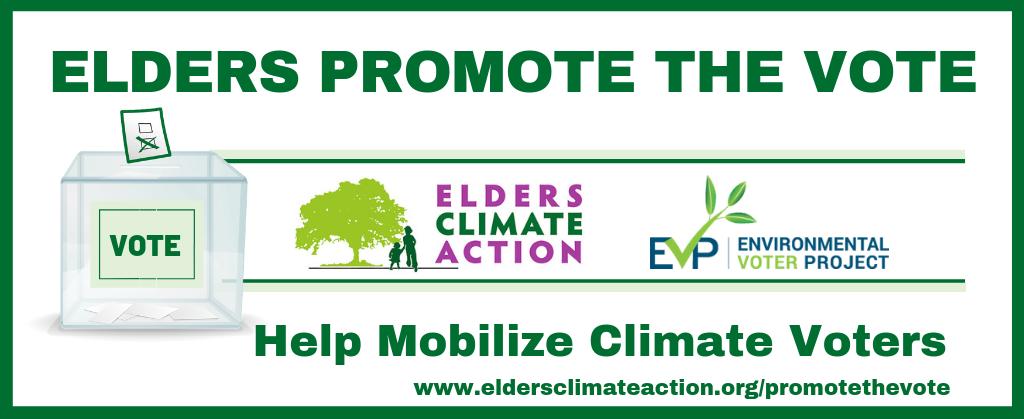 Elders Promote the Vote - Elders Climate Action